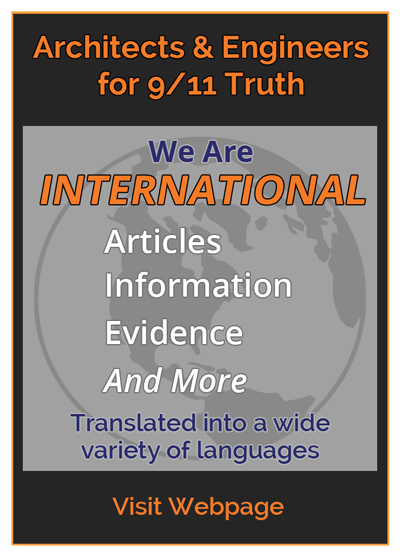 AE911Truth website - international content